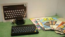 Sinclair ZX Spectrum 16k Vintage Personal Computer + bundle magazines & brochure