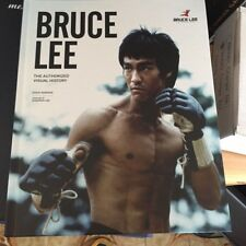 BRUCE LEE Livre album  AUTHORIZED VISUAL HISTORY en anglais neuf !! 4.99 E Port