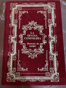 Dante Alighieri La Divina Commedia Illustrata Da Gustavo Dorè 1986