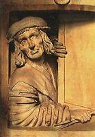 Alte Kunstpostkarte - Wien - St. Stephan - Meister Pilgram - Der Fenstergucker