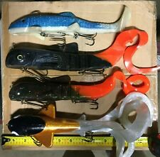 Muskie Bait Lure Lot - Musky Innovations pounder & mag bulldawg!!!!
