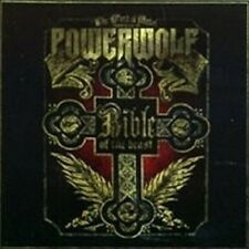 "POWERWOLF ""BIBLE OF THE BEAST"" CD 12 TRACKS NEU"