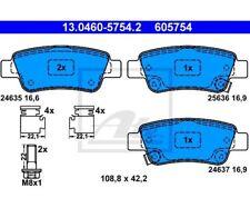ATE Bremsbeläge Belagsatz Bremsklotz  Hinterachse  Honda 13.0460-5754  ATE 13.0