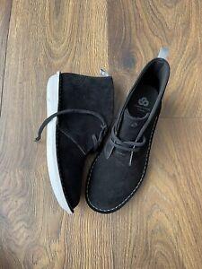 New Clarks Womens Step Weltisle Ankle Black Boots Shoes Size UK 7 D EU 41