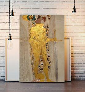 CANVAS WALL ART PRINT ARTWORK PICTURE FRAMED POSTER Gustav Klimt Beethoven Friez