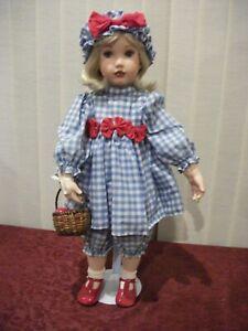 "Rebecca 24"" Porcelain Doll by Loli Belle"