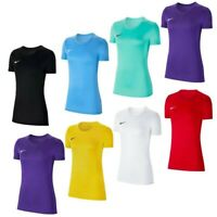 Nike Womens T Shirt TShirt Park VII Ladies Short Sleeve Jersey Top T-Shirt