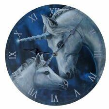 Wall Clock Wall Sacred Love Unicorn Unicorn Design by Lisa Parker