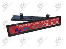 BMW E36 M3 MOTORSPORT INTERNATIONAL RED EDITION DOOR MOULDING BADGES LTE RESIN