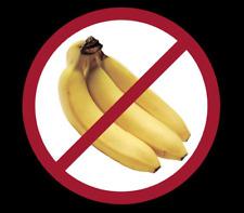 """""""No Bananas""""  Marine / Boating / Sailing Decal Sticker"""
