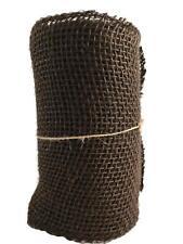 Brown Burlap Craft Ribbon Roll 5.5 inch x 15 Feet