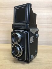 *Exc+4* Yashica Yashicaflex Model A TLR Film Camera 80mm F/3.5 Lens From Japan