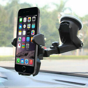 360° Rotate Car Phone Holder Universal Windscreen Suction Mount GPS Stand Cradle