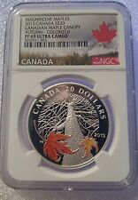 Magnificent Maples $20 Autumn Canopy NGC PF69 Ultra Cameo 1oz Silver Proof Coin
