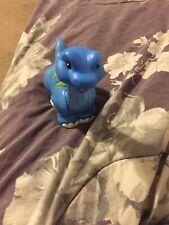 Fisher Price Little People Brontosaurus Dinosaur Blue 6� Rare