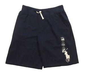 Polo Ralph Lauren Boys Newton Navy Big Pony Drawstring Shorts