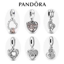 Genuine Silver Pandora Heart Pendant Dangle Charm ALE S925 & With Gift Box