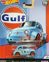 Hot Wheels Premium Car Culture - '60s Fiat 500D Modificado - GULF