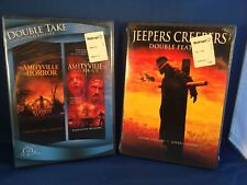 THE AMITYVILLE HORROR DVD DOUBLE TAKE JEEPERS CREEPERS DOUBLE FEATURE NEW SEALED