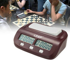 PRO LEAP Digital LED Chess Clock I-go Count Up Down Timer Game Competition