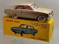 Dinky toys France 1960 Meccano réf.559 Ford Taunus 17M & boite d'origine éch1/43