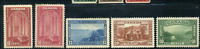 Canada #241-244 mint VF OG NH/H/DG 1938 Pictorial Issue Part Set CV$129.50
