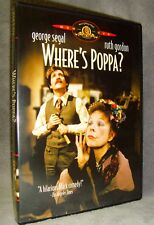 Where's Poppa (DVD, 2002) No Scratches•USA•Out-of-Print•George Segal•Ruth Gordon