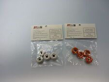 Accesorio Slot 1/32 -2 Bolsas 4 llantas gris y naranja Quad Power Slot