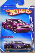Hot Wheels 2010 Hw Garage Chevrolet Silverado Violet