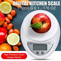 Digital Kitchen Scale Food Electronic Gram Scales Small Postal Diet Cooking