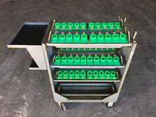 Equipto BT30 Tool Holder Cart, 50 Tool Pods w/ Adjustable Height Shelves