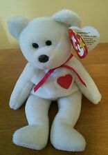 Retired Ty Valentino Beanie Baby- Brown Nose / Tag & Date Errors PVC Pellets
