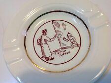 Antique original Brit Mila Circumcision bowl porcelain Judaica ashtray (m1791)