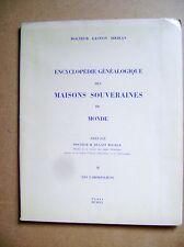 Généalogie Maisons souveraines du Monde Les Carolingiens tome II /D7