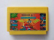 4 in 1 games ( SUPER MARIO , ROAD FIGHTER ETC)- Famicom Famiclone Nes Cartridge