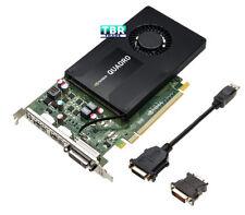 DELL NVIDIA QUADRO K2200 4GB PCI-E Video Professional Graphics Card XFDRD