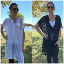 Pete and Greta by Johnny Was Sulvia Pintuck Tunic Dress Retail $155 #PG3134
