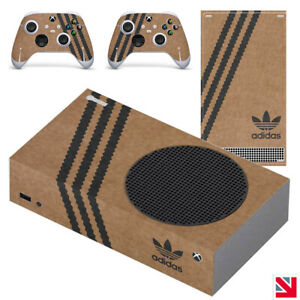 Adidas Shoebox Parody XBOX SERIES S Skin Decal Vinyl Sticker Wrap