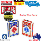 Brand New Bicycle deck (red or blue) Worlds Number One Poker Playing Cards USA