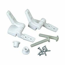 Master Plumber 479-56 White Toilet Seat Hinge Replacement Parts, New, Free Shipp