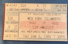 Wayne Gretzky 700th Goal 1991 Ticket NHL Hockey Los Angeles Kings