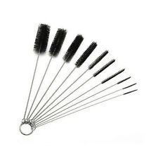 10Pcs Set Mini Cleaning Bristle Brushes Pipe Vent Sink Spout Overflow Cleaner