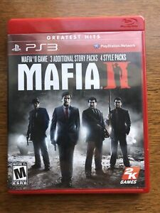Mafia II Greatest Hits PlayStation 3 2010 Complete with Map and Manual