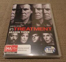 IN TREATMENT Season Three - DVD 2011 (4 disc set) - Region 4 - Gabriel Byrne