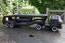 Vintage Tonka Truck Car Carrier Trailer Retro Home Decoration Kids Playroom Shop