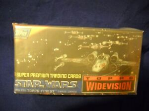 1995 TOPPS STAR WARS WIDEVISION Set With Wrapper