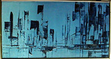"METROPOLIS 12"" x 22"" Painting by Rod Rogers"