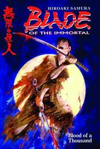 Blade of the Immortal Vol 1: Blood of a Thousand by Hiroaki Samura 2010 PB OOP