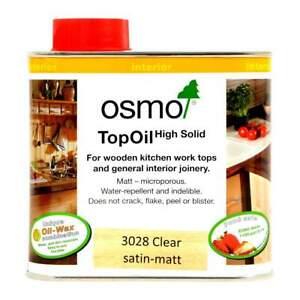 Osmo Top Oil 500ml 3028 Clear Satin