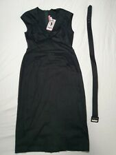 Pinup Couture Clothing black rockabilly wiggle dress size XL